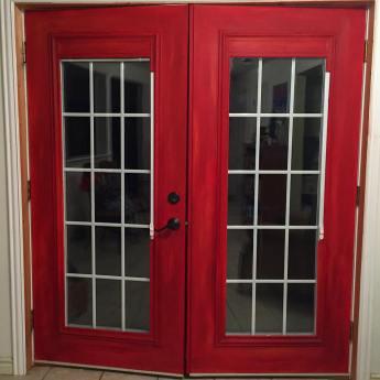 ruth's red doors