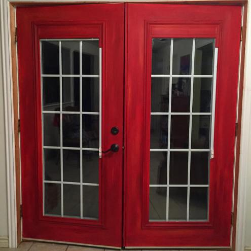 ruth's red doors